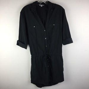 JAMES PERSE Belted Shirt Dress
